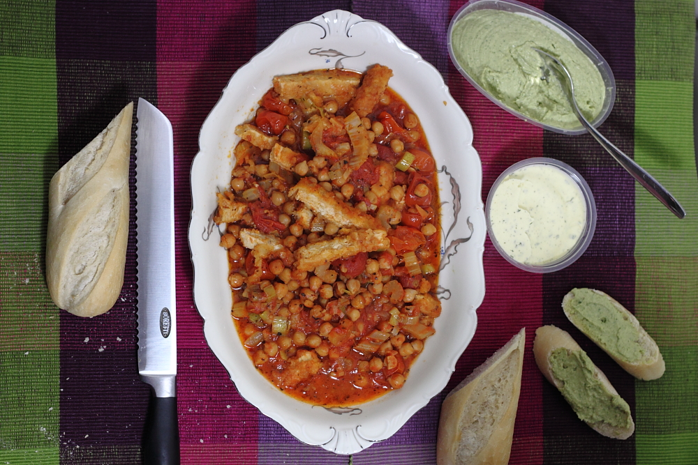 Cassoulet met valess (vega)1